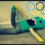 Oli es un gimnasta de primera