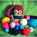 Liny me vuelve loca trasteando con las lanas